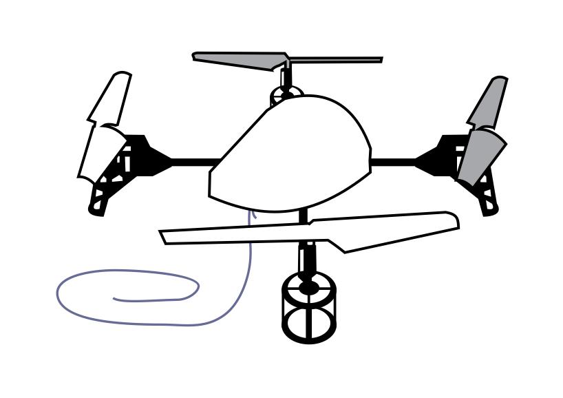 drone de juguete anti drone